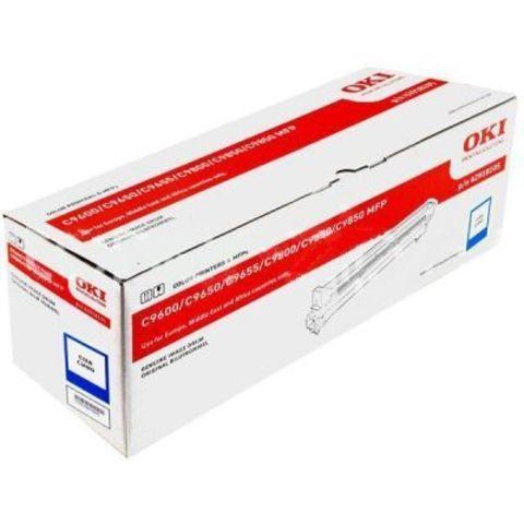 OKI C9600/C9650/C9655/9800/C9850 Drum-unit cyan (голубой) - фотобарабан (42918107)  Ресурс 30000 страниц.