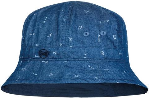 Панама детская Buff Bucket Hat Arrows Denim