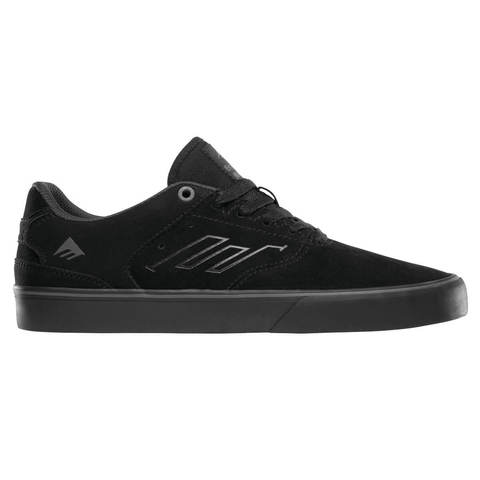 Кеды EMERICA The Reynolds Low Vulc (Black/Black/Grey)