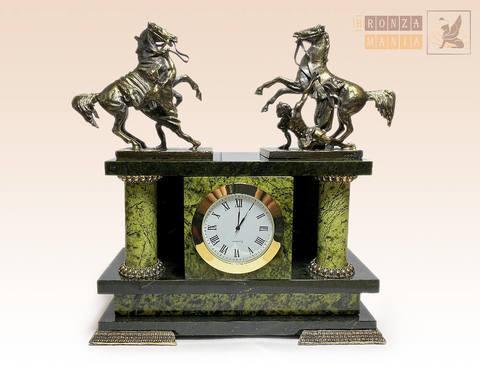 часы Аничков мост - Кони Клодта