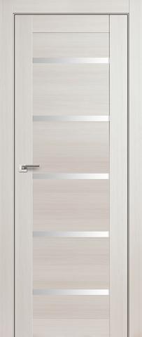Дверь Profil Doors №7Х, стекло матовое, цвет эш вайт мелинга, остекленная