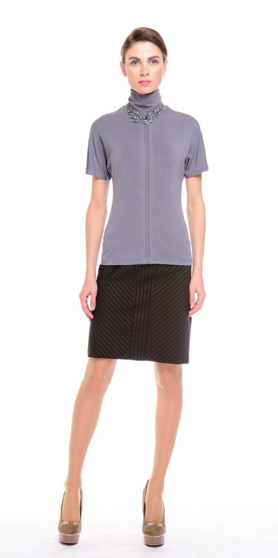 8a454bbd50c Купить черную юбку Б051-377 в интернет магазине с доставкой и примеркой