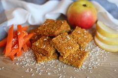 Крекеры MIX Морковные и печенье витаминное www.eco-apple.ru