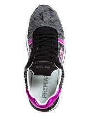 Комбинированные кроссовки Premiata Conny 4503 на шнуровке