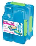 Набор Lunch: 2 контейнера и бутылка 475мл, артикул 1590, производитель - Sistema, фото 3