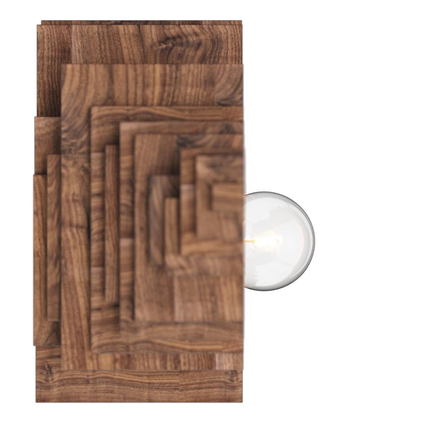 Настенный светильник Woodled Авокадо-Фурье