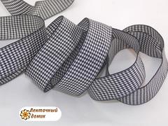 Лента текстильная гусиные лапки 25 мм