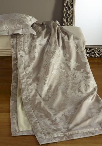 Элитный плед Louis XIV серебристый от Curt Bauer