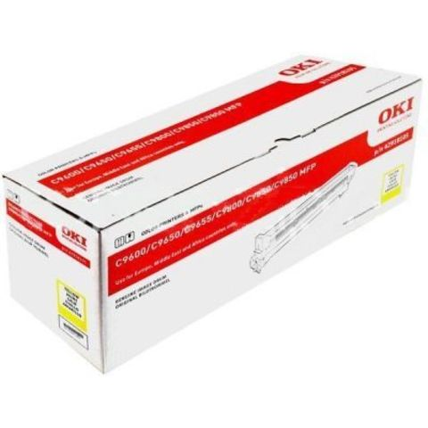 OKI C9600/C9650/C9655/9800/C9850 Drum-unit yellow (желтый) - фотобарабан (42918105) Ресурс 30000 страниц.