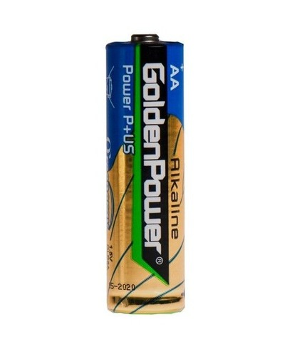 Элемент питания AA LR06 Golden Power Plus Shrink Alkaline