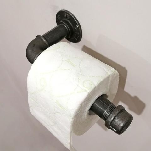 Держатель для туалетной бумаги в Индустриальном стиле, Лофт стиле