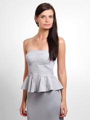 31256 блузка женская, серая