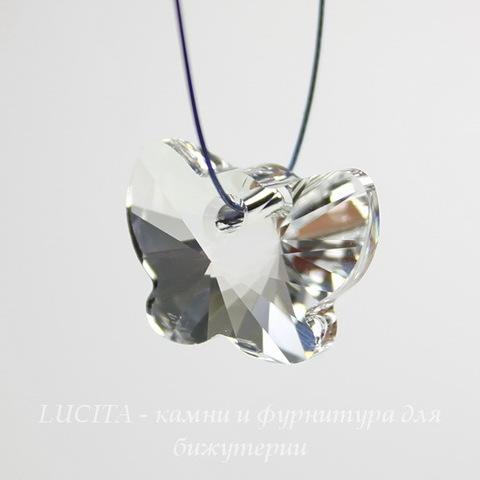 6754 Подвеска Сваровски Бабочка Crystal (18 мм)