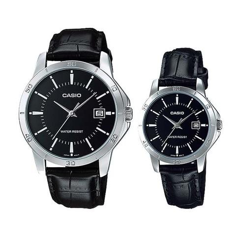 Купить Парные часы Casio Standard: MTP-V004L-1AUDF и LTP-V004L-1AUDF по доступной цене