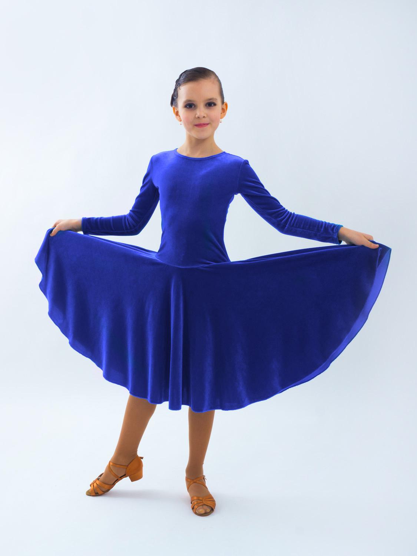 1af6bd3d24899e9 Рейтинговое платье Re7/2- бархат - купить в Top Dance.