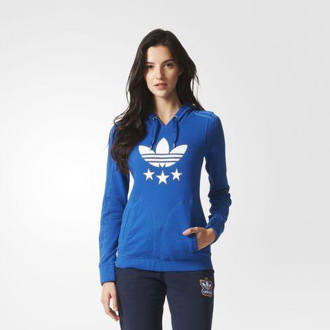 Джемпер женский adidas ORIGINALS SLIM HOODIE