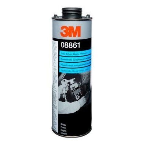 3М Структурное покрытие черное неокрашиваемое 3М 1л 08861