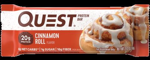 Протеиновые батончики Quest Bar Cinnamon Roll (Булочка с корицей), 1 шт