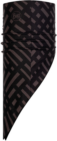 Бандана-шарф флисовая Buff Bandana Polar Platinum Graphite