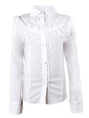 0327 блузка детская, белая