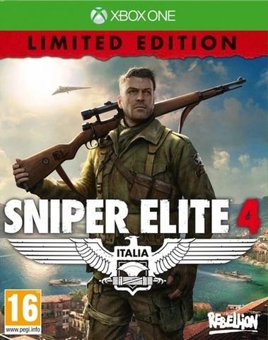Xbox One Sniper Elite 4. Limited Edition (русская версия, новый, запечатан)