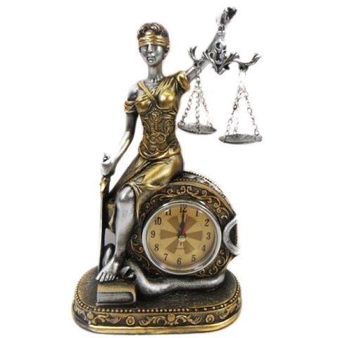 Богиня правосудия с часами HOL20638