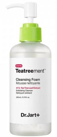 Dr.Jart+ Ctrl-A Teatreement Cleansing Foam очищающая пенка для лица 120 мл