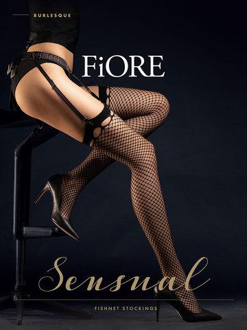 Чулки Burlesque Fiore