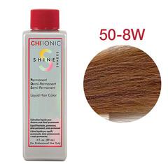 CHI Ionic Shine Shades Liquid Color 50-8W (Средний теплый блондин) - Жидкая краска для волос