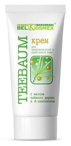 BelKosmex  TEEBAUM Крем д/чувствит. и проблемной кожи  80г
