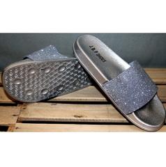 Шлепки J.B.P. Shoes Nu1213 Silver.