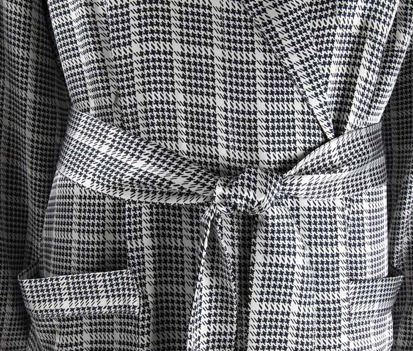Шелковый мужской  халат Zimmerli