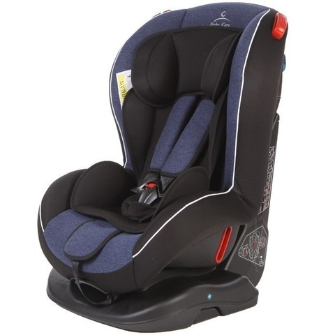 автокресло Baby Care Basic Evolution Синий/Чёрный (6902-101)