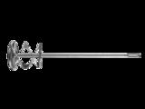 Миксер ЗУБР ПРОФЕССИОНАЛ для красок оцинкованный, SDS+ хвостовик, на подвеске (10шт/кор)