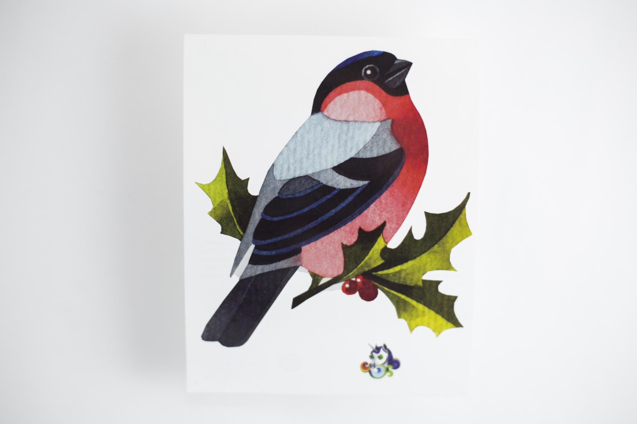 Переводная татуировка Bullfinch