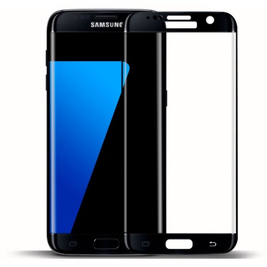 Защитное стекло Samsung Galaxy S6 EDGE 3D Black