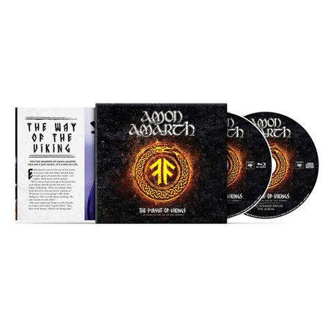 Amon Amarth / The Pursuit Of Vikings: 25 Years In The Eye Of The Storm (CD+Blu-ray)
