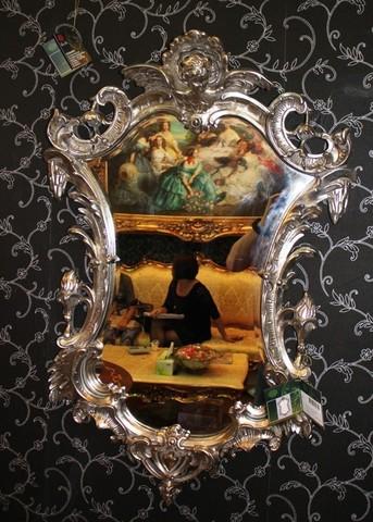 зеркало в золотой раме 01-06  ( MAGIC MIRROR )