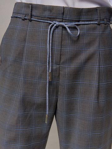 Женские серые брюки Eleventy - фото 2