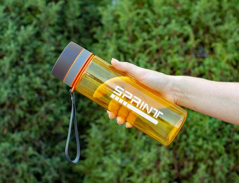 Бутылка POWCAN - 800 мл. SPRINT - Оранжевый