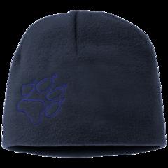 Шапка флисовая детская Jack Wolfskin Fleece Cap Kids midnight blue