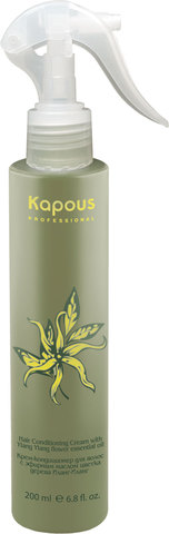 Крем-кондиционер для волос с эфирным маслом Иланг-Иланг,Kapous Ylang Ylang,200 мл