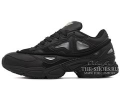 Кроссовки Женские Adidas X Raf Simons OZWEEGO 2 Triple Black