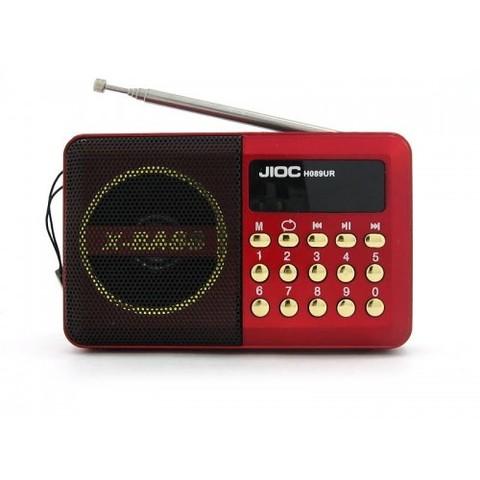 Портативная колонка H-089UК MP3/FM/MicroSD/USB