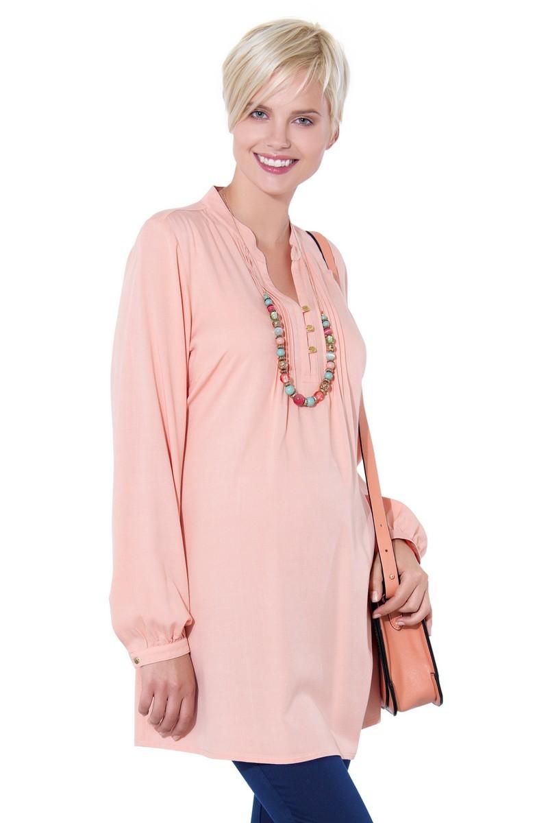 Блузка 01384 розовый