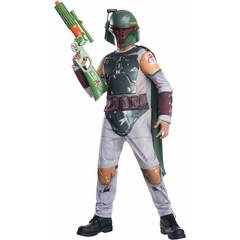 Звездные войны Боба Фетт костюм детский с маской