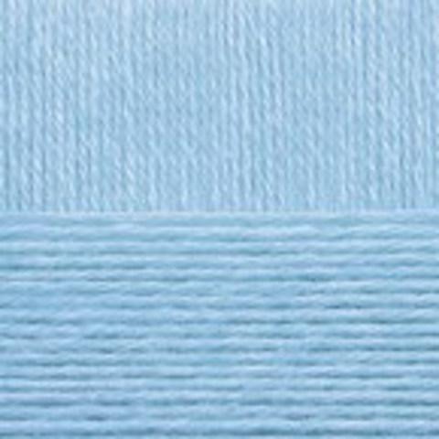 Детская объемная 05 голубой, Пехорка, пряжа, фото