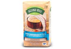 Мука Helsinki Mills пшеничная для выпечки, 2кг