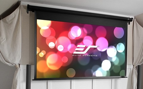 Elite Screens VMAX92XWH2-E30, экран электрический