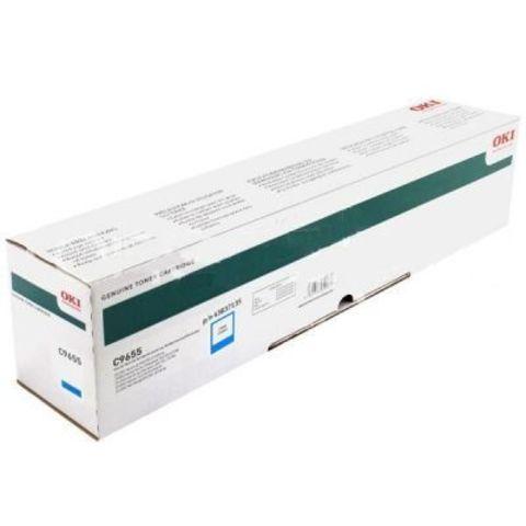OKI C9655 голубой тонер-картридж для C9655. Ресурс 22 000 стр А4. Код заказа: 43837135, 43837131